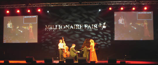 Katelijne van Otterloo Trio Millionair Fair