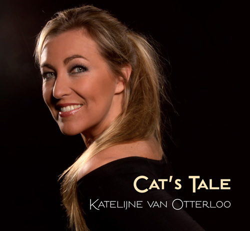 zangeres Katelijne van Otterloo CD Cover Cat's Tale